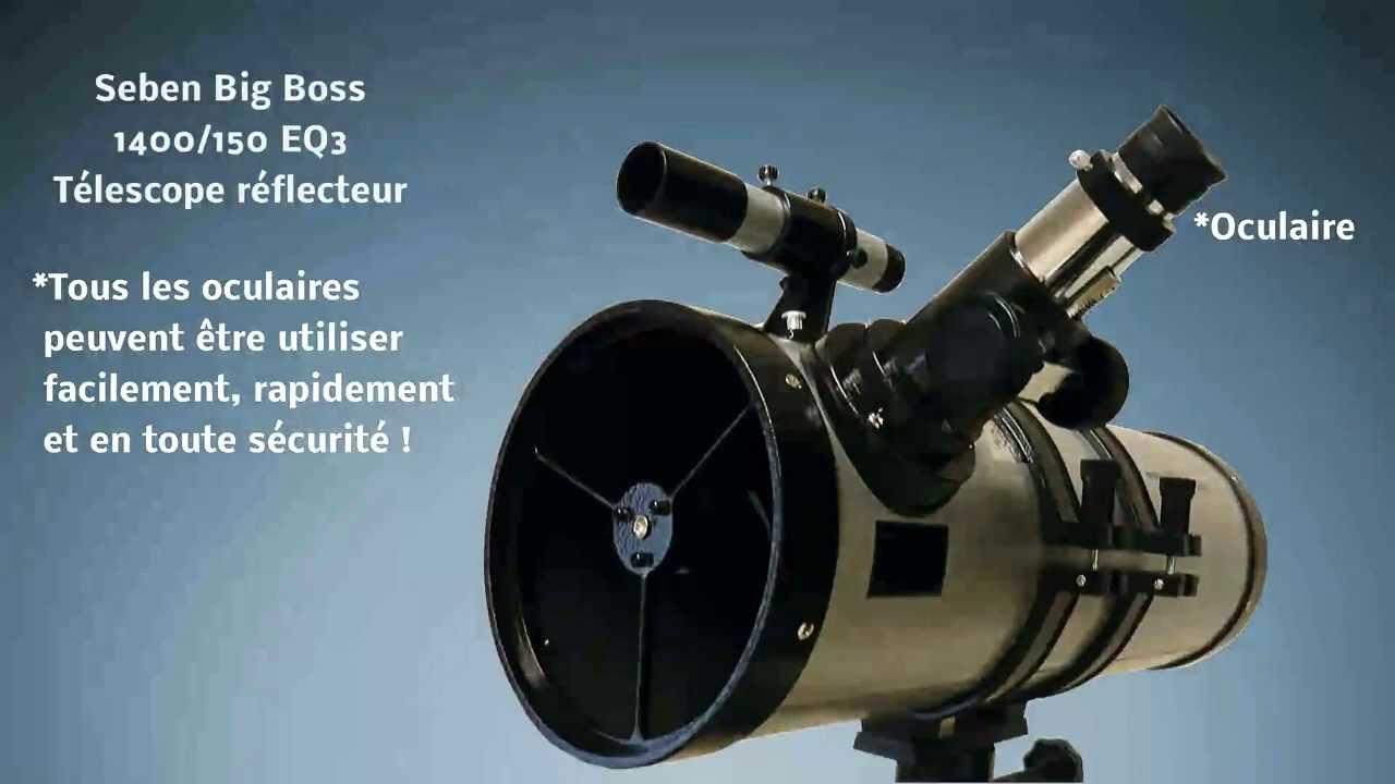 Big boss télescope réflecteur eq youtube