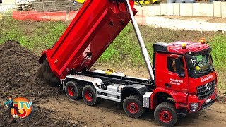 RC SCALE MODEL TRUCKS RC MERCEDES RC SCANIA RC VOLVO & CONSTRUCTION SITE