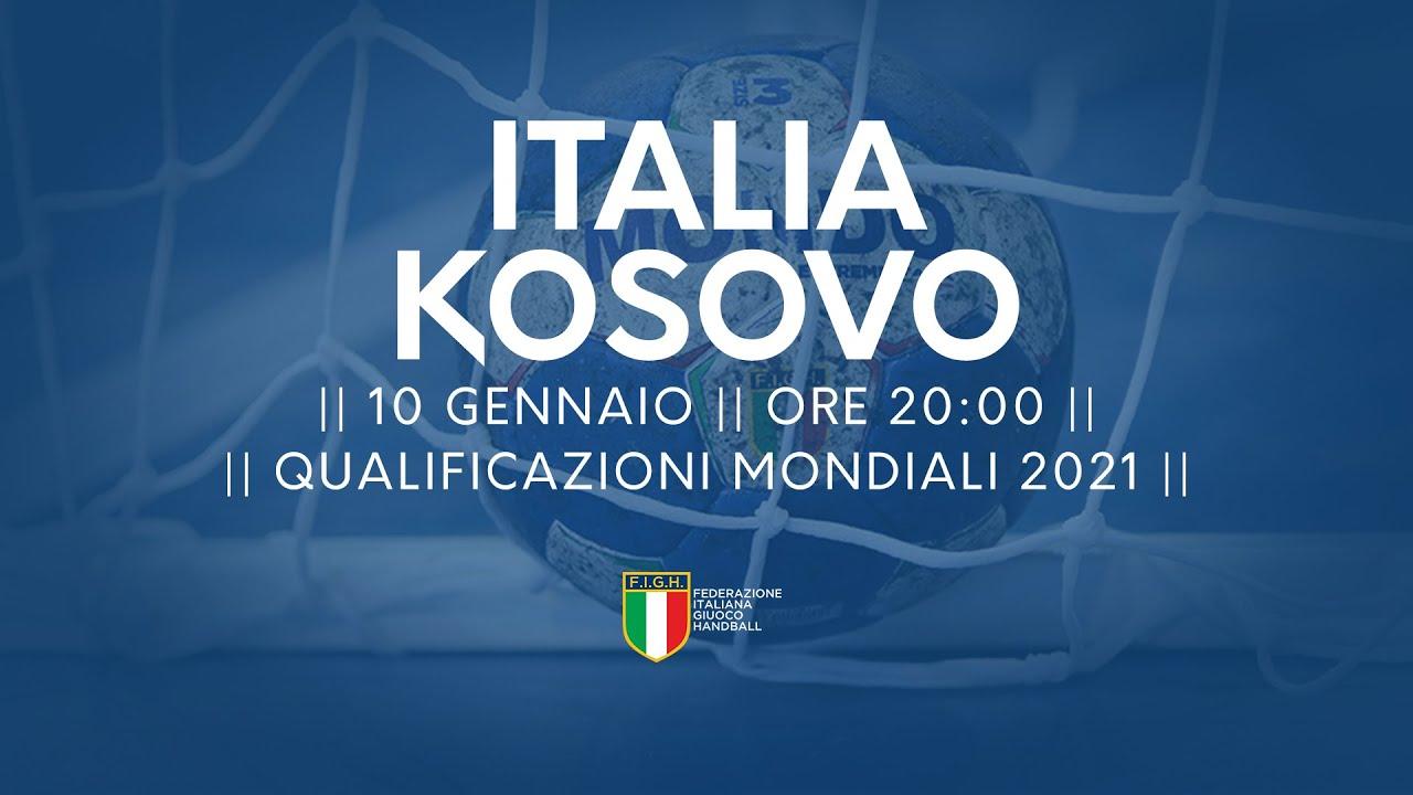 Qualificazioni Mondiali 2021: Italia - Kosovo 26-26