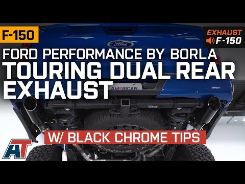 2015-2019 F150 Ford Performance by Borla Touring Dual Rear Exhaust EcoBoost Sound Clip & Install