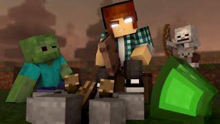 Minecraft Escola Monstro #27 - Historias Para Monstros !!  Monster School