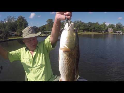 Fishing Dog River - Redfish - Mobile AL - 10/15/16