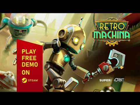 Retro Machina Nucleonics - Your lone adventure in automated world
