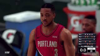NBA 2K21 올스타전 3점 콘테스트 스테판커리,제임…