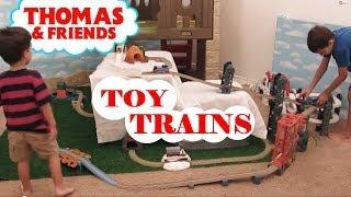 New Trackmaster Train Sets Kid Pretending Thomas The Train Toy