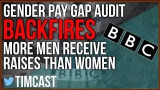 GENDER WAGE GAP AUDIT BACKFIRES -  RESULTS IN MORE MEN RECEIVING RAISES THAN WOMEN