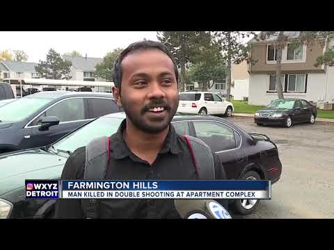 1 dead, 1 injured in shooting at apartment complex in Farmington Hills