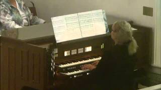 "Postlude"" ""Processional in C"" by David Maxwell"
