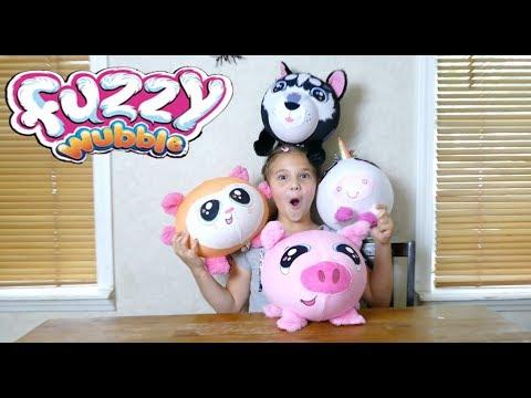 Fuzzy Wubbles! The Softest, Squishiest, Fuzziest Wubbles!  #freeproduct