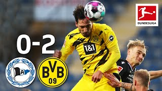 Hummels Scores Brace to Replace Haaland as Striker