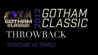 2012 Gotham Classic Throwback