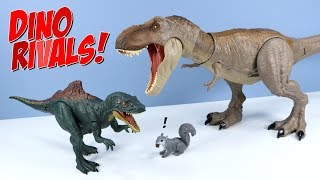 Jurassic World Dino Rivals Bite 'n Fight Tyrannosaurus Rex Concavenator