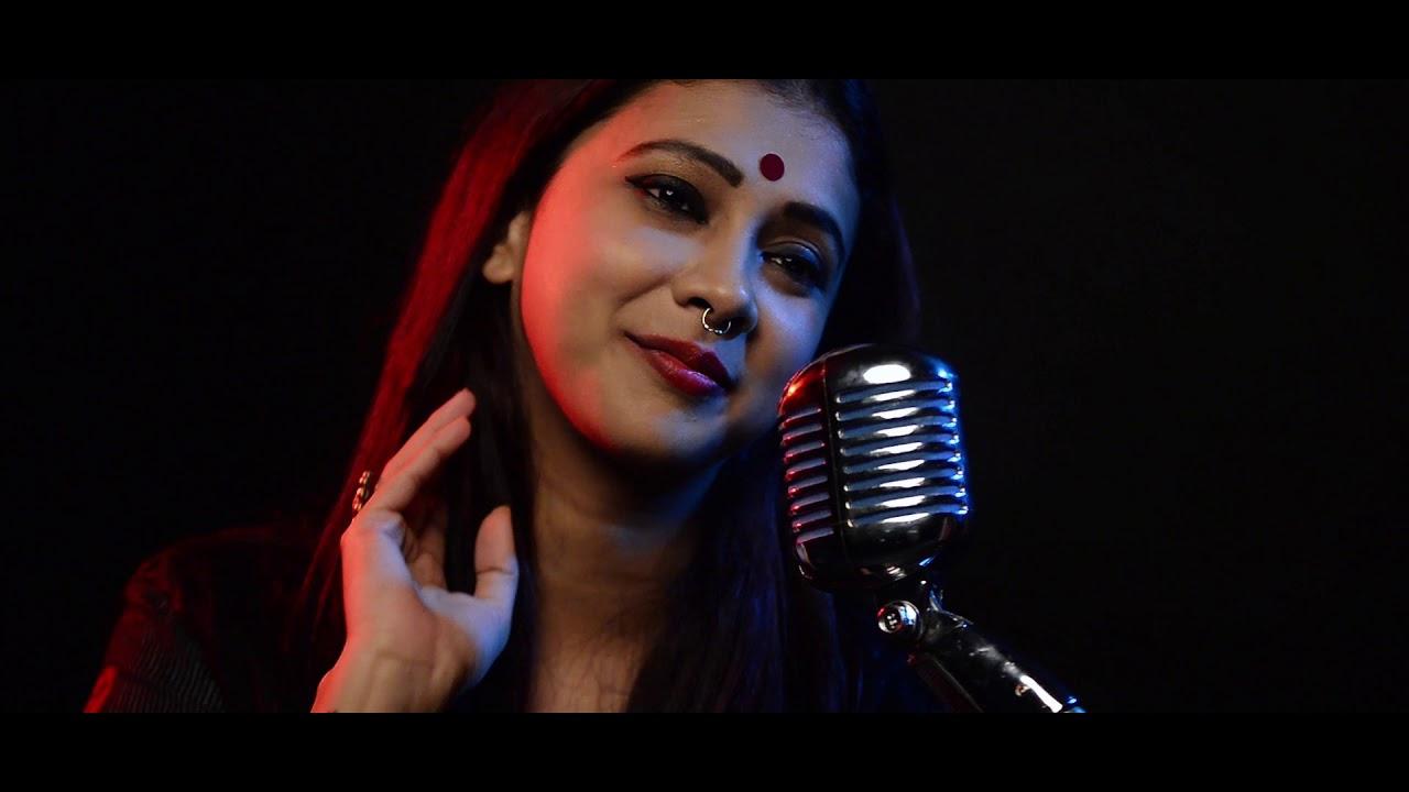 Amar Nishith Raater Badal Dhara l Full Song l Poushali Banerjee l Tagore Song