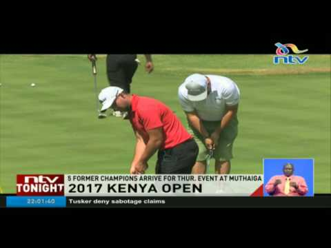 Five former champions to take part in the 2017 Kenya Open