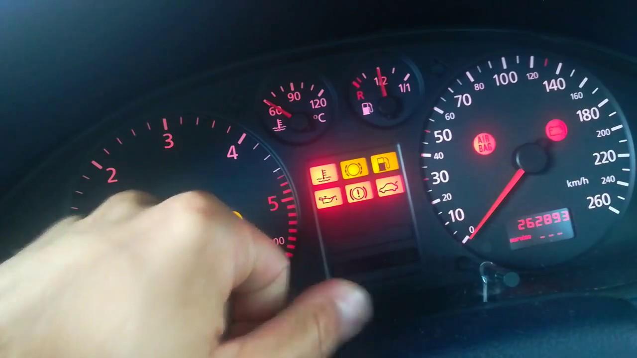 Audi A4 b5 (1 9 TDI) SERVICE RESET