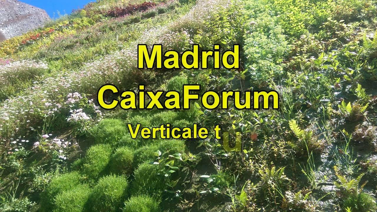madrid caixaforum jardn vertical vertical garden verticale tuin mei