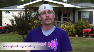 Lee Thompson Aka Uncle Poodle Talks About Bullying On #spiritday