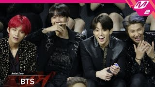 [2018MAMA x M2] 방탄소년단(BTS) at 아티스트 존(Artist Zone) in HONG KONG
