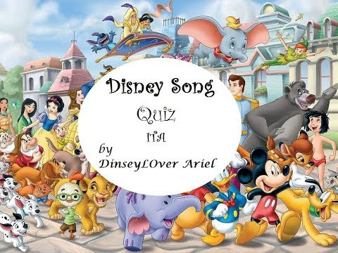 Disney Song Quiz (Italian Version)