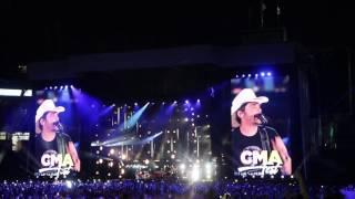 Brad Paisley - Today - CMA Fest 2017