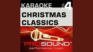 The Christmas Song Karaoke Instrumental Track In the style