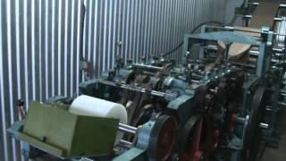 видео Оборудование для производства бумажных пакетов