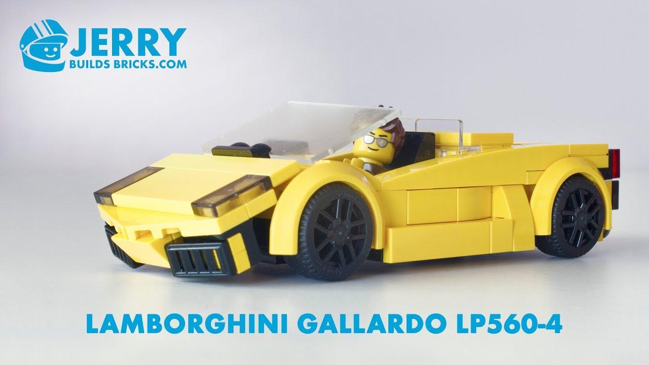 Lego Lamborghini Gallardo Lp560 4 Spyder Instructions Moc 28