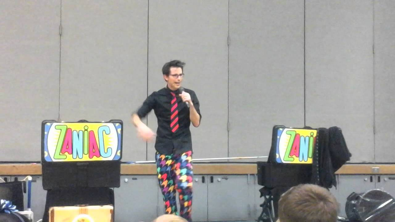 Alex Zerbe at Tumwater Hill Elementary