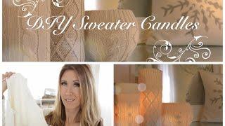 DIY Sweater Candles Thumbnail