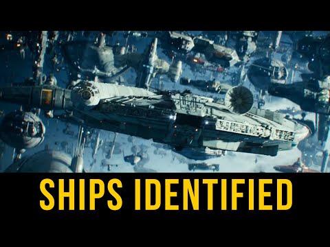 Episode 9 Final Trailer SHIPS IDENTIFIED | Star Wars Ship Breakdown