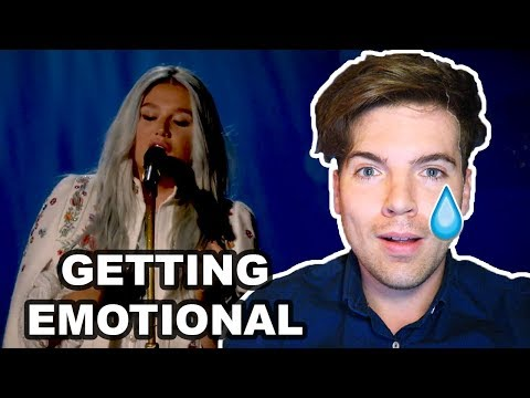 KESHA - PRAYING (LIVE PERFORMANCE @ YOUTUBE) REACTION