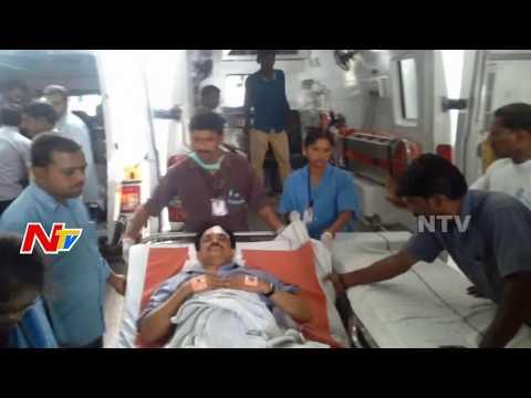 Eenadu And Ramoji Film City Officials Met With Accident At Nalgonda | NTV