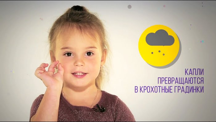 Четырехлетняя Вероника знает всё о погоде