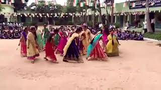zphs nawabpet dandiya pankida o pankida dance indipendance groupdance zpss