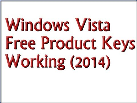 windows vista home premium 32 bit serial key