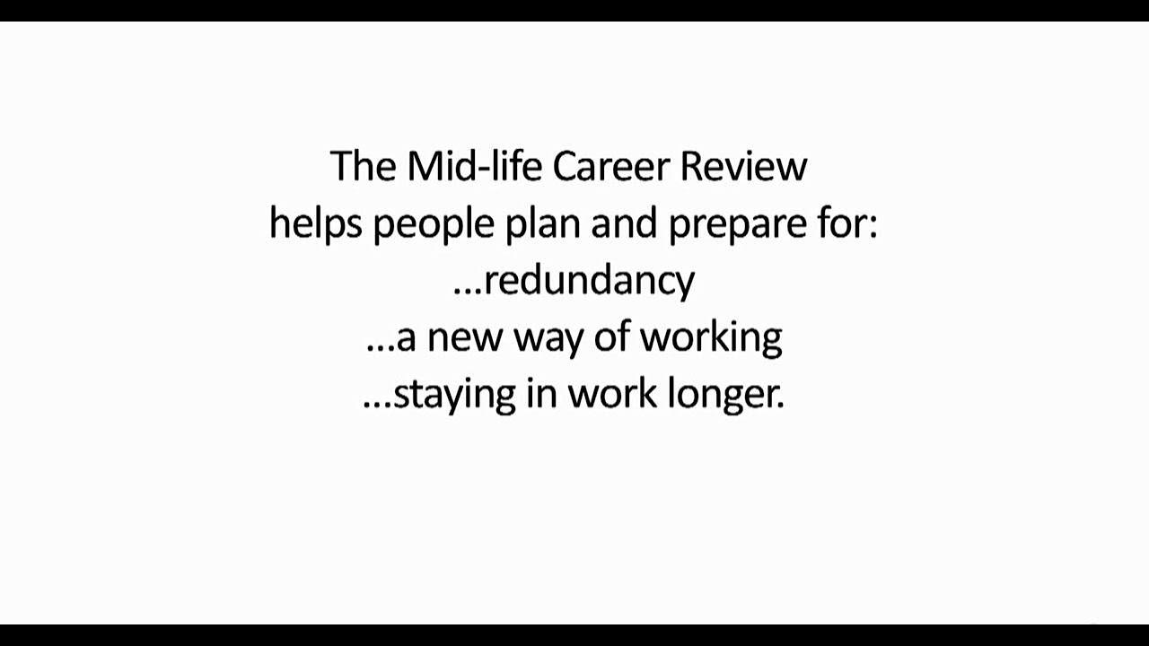 introducing career reviews midlife career review