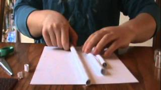 Как сделать бумаги пистолет стреляет без обдува(, 2012-01-21T22:58:57.000Z)