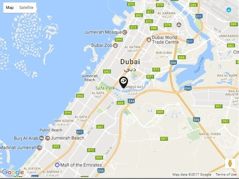 Damac merano tower location map business bay dubai uae youtube damac merano tower location map business bay dubai uae gumiabroncs