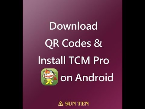 How To Download QR Codes & Install TCM Pro On Android