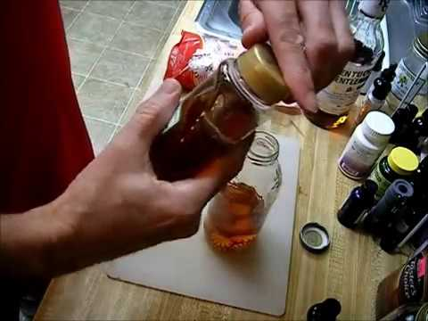 DIY PAW PAW Whiskey Cough Syrup