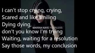Marina Kaye - Sounds Like Heaven ft. Lindsey Stirling (LYRICS)