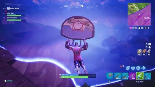 Fortnite new jumpshot skin and slam dunk pickaxe