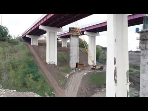 Nolan, Malone, Kullik and Tracey - Aerial Footage Of The I-480 Valley View Bridge Replacement Project