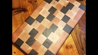 How To Build An End Grain Cutting Board