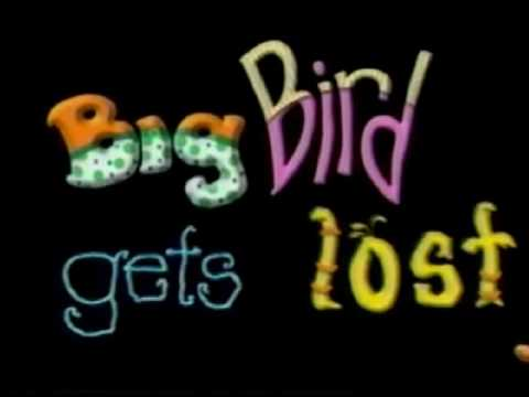 Big Bird Gets Lost Vhs