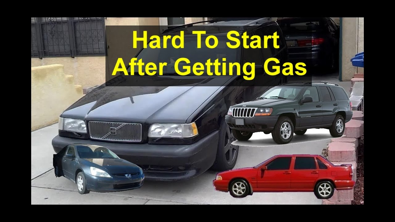 How To Start A Car With A Bad Fuel Pump >> Why is your car or truck hard to start or will not start after pumping gas. - VOTD - YouTube