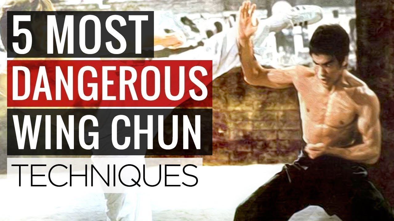 5 Most Dangerous Wing Chun Techniques Martial Arts Moves For