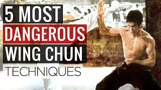 5 MOST DANGEROUS Wing Chun Martial Arts Moves for Self Defense