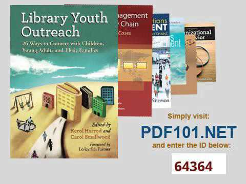 Library Youth Outreach 26 Ways to Connect With Children, Young Adults and Their Families