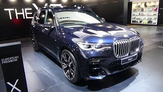 2019 BMW X7 xDrive30d Launch Edition - Exterior and Interior - Auto Show Brussels 2019